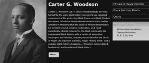 Dr Carter G Woodson Quotes