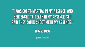 Was Court Martial Absence