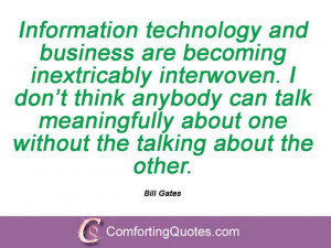 Bill Gates Quotes About Technology