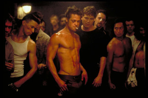 when chuck palahniuk s fight club was making the rounds in hollywood ...