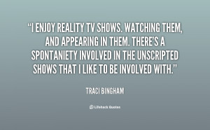Famous Quotes About Reality TV