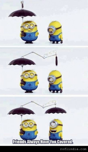 displaying 12 gallery images for minion friend quotes