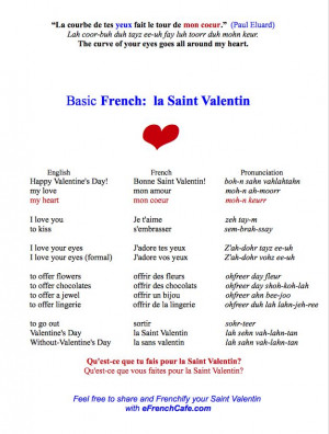 ... pronounce {Je t'aime} #quote of Paul Eluard #citation de Paul Eluard