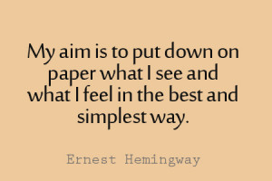 11 Ernest Hemingway Quotes to Inspire Your Blogging and Writing