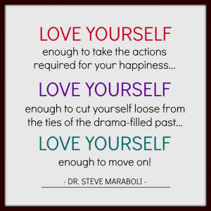 required for your happiness… Love yourself enough to cut yourself ...