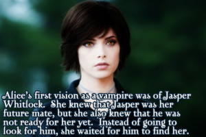 alice cullen #ashley greene #jasper hale #jasper and alice #twilight ...