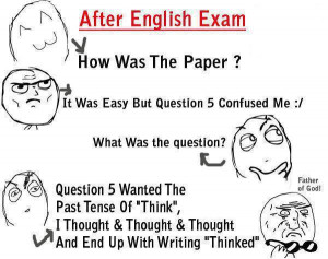 After English Exam