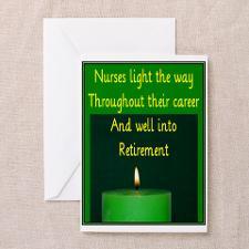 Nurse Retirement Greeting Cards