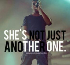 Shes not just another one
