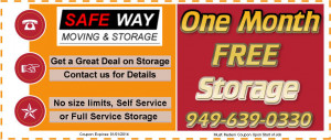 Safe-Way Moving has complete service from Orange and San Diego County ...