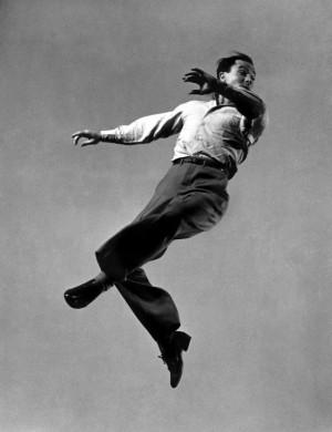 Gene Kelly 1944 by Gjon Mili