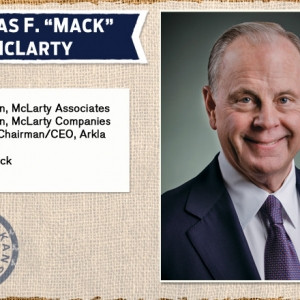 UA Business Hall of Fame 2014 Thomas F quot Mack quot McLarty