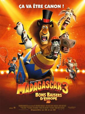 Le film pour enfants Madagascar 3 : bons baisers d'Europe est le ...