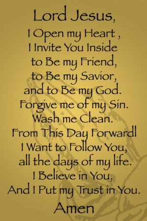 ... Be My Friend, To Be My Savior, And To Be My God…. ~ Thank You Quote