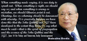 Daisaku Ikeda Quote