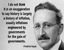 Milton Friedman Inflation Poster