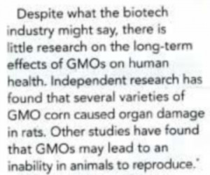 Kaiser Permanente Recommends Against Eating GMO Foods