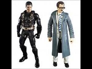 Batman Legacy Batman Begins Batman and Ras Al Ghul Figures