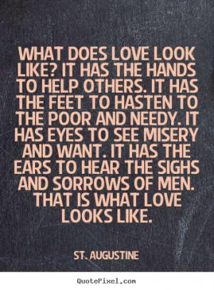 Saint Augustine Love Quotes