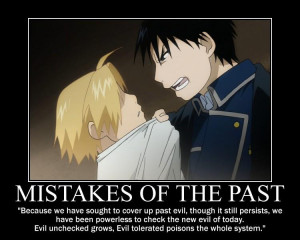 anime fullmetal alchemist character edward elric roy mustang quote ...