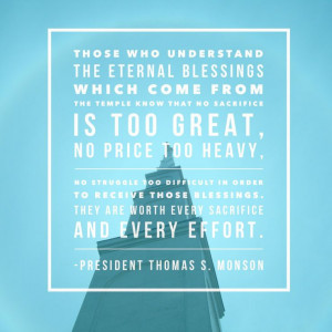 Lds Knowledge Quotes Lds Temple Quotes Lds