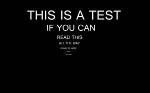Quote reading test 1024x640 Funny Reading Test If You Can Read ...