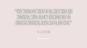 Naipaul Quotes