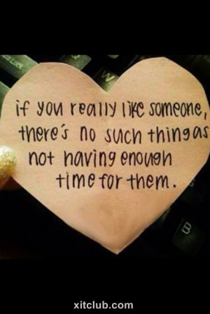 have time for me don t waste time on those people instead spend it ...