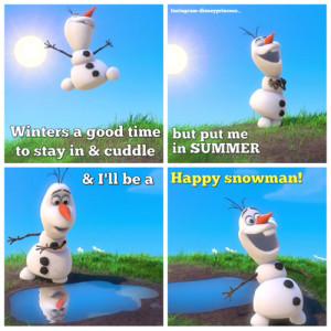 olaf the snowman olaf frozen olaf frozen olafquote olaf quote olaf ...