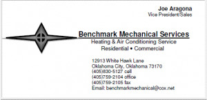 Email: benchmarkmechanical@cox.net