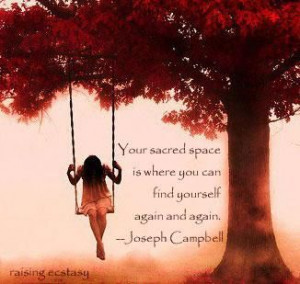 Your sacred space.....