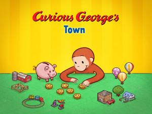 Curious George's Town App Review and Giveaway