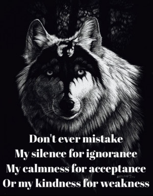 Don't Ever Mistake – Wise Wolf