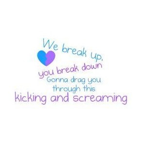Kicking and Screaming Quote Miley Cyrus Lyrics