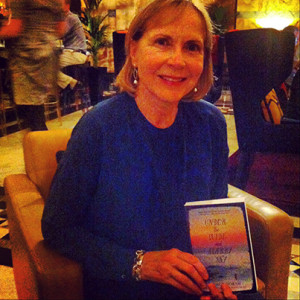 Nancy Horan author of Loving frank and Under the Wide and Starry Sky