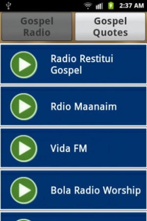 radio and quotes app now you can listen to your favorite gospel radio ...