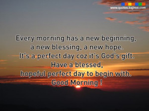 good morning and god bless quotes - Google Search