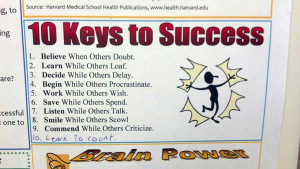 10-Keys-to-Success..Funny pictures (Brain Power - Learn to Spell)
