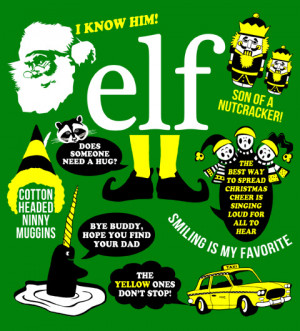 wayward tees movies elf movie elf movie quotes