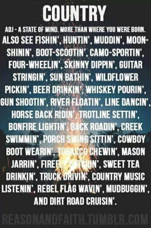 country and proud