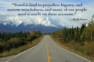 The researchers decided to test Twain's theory – does travel ...