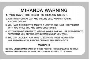 Miranda v. Arizona