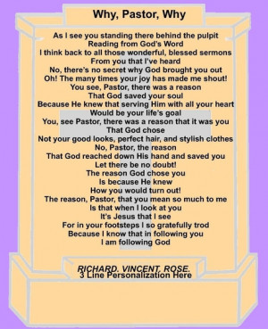 Poems Funny Pastor And Wife Appreciation
