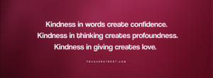 2012-06-23 Tags: Kindness , Generosity , Quotes