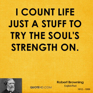 Count Life Just Stuff Try