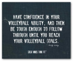 Volleyball Quote #018