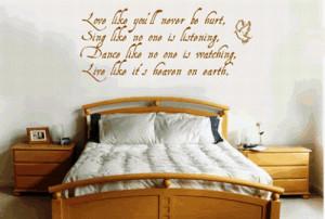 Decorar paredes con frases que inspiran
