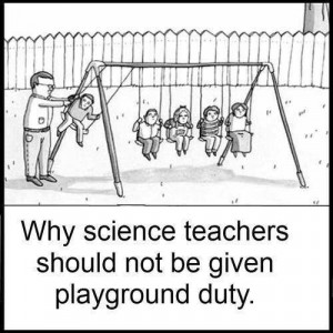Playground and science teachers
