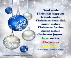 Christmas Quotes, Love and Christmas, Christmas Decoration