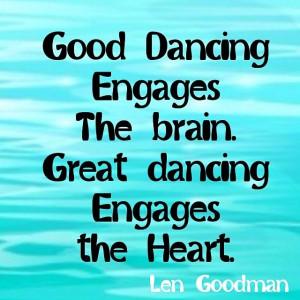 Great Dancing...